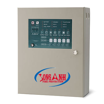 tủ báo cháy Horing Lih QA12 5 kênh