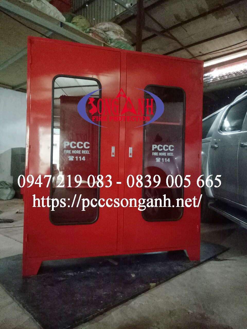 tủ pccc hàng đặt sản xuất theo yêu cầu