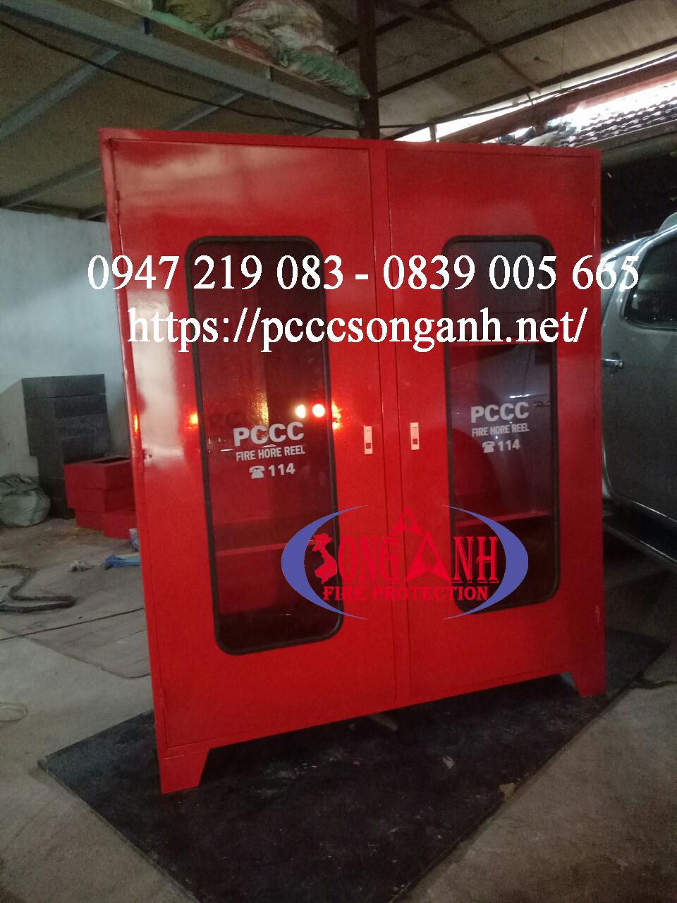 tủ đựng phương tiện chữa cháy 1800x1500x400