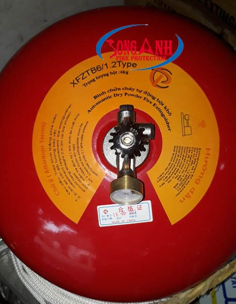 bình cầu chữa cháy tự động XFZTB6