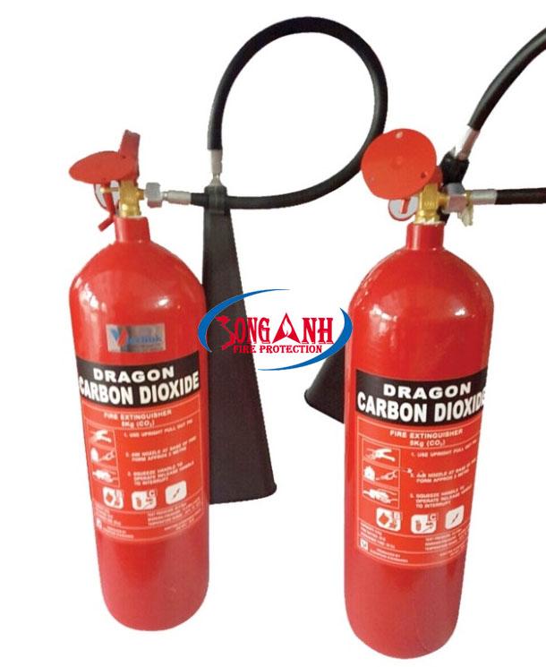 Bình chữa cháy DRAGON CO2 5kg