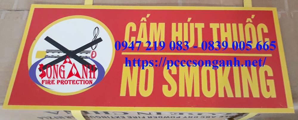 bảng cấm hút thuốc