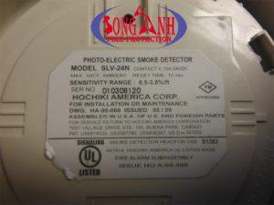 đầu báo khói quang hochiki SLV-24N