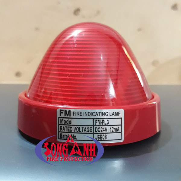 Đèn chớp báo cháy Formosa FM-FL3