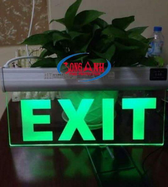 đèn exit trong suốt LiLang