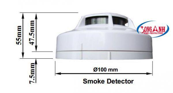 đầu báo khói fms 136