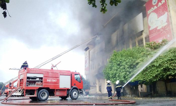 công tác phòng cháy chữa cháy còn nhiều bất cập