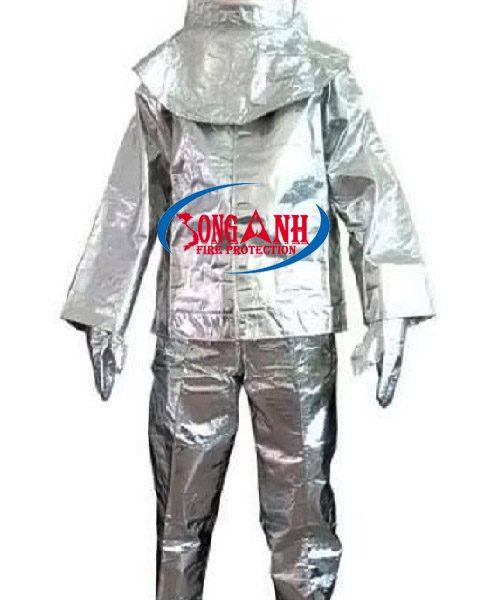 quần áo chống cháy 500 độ C