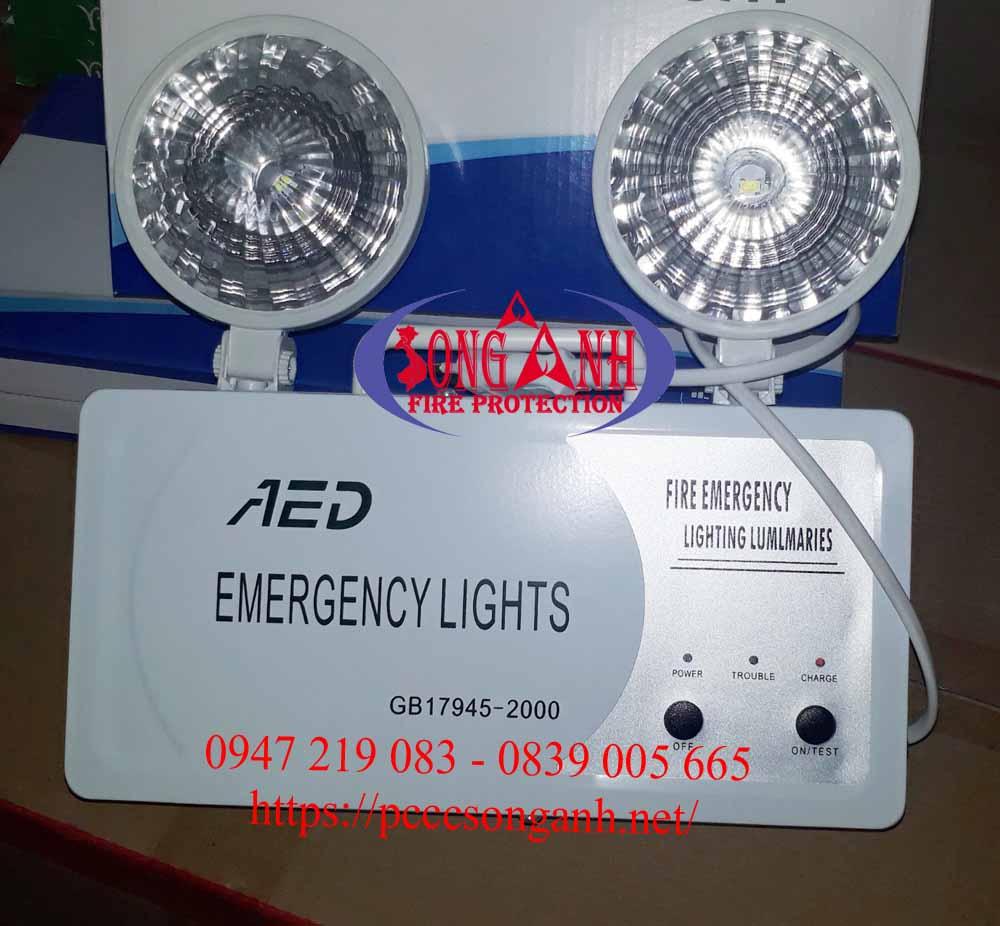 đèn sự cố mắt cua (mắt ếch) AED