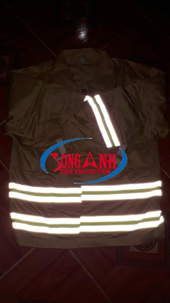 áo chữa cháy TT48 phản quang