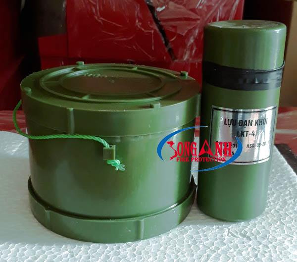 lựu đạn tạo khói LKT-4 - hộp tạo khói HPK 2,5