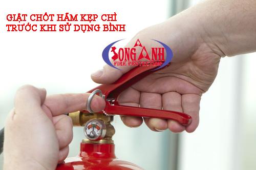 hướng dẫn sử dụng bình chữa cháy