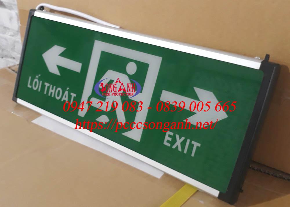 Đèn chỉ lối thoát hiểm Lilang Exit Light XF BLZD 2LREI 3WA