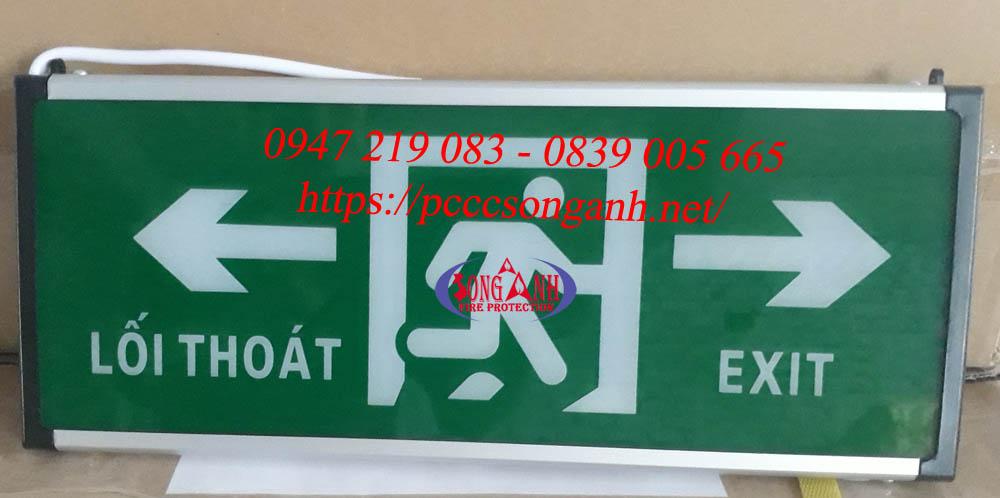 đèn chỉ dẫn thoát hiểm exit lilang xf blzd 2lrei 3wa