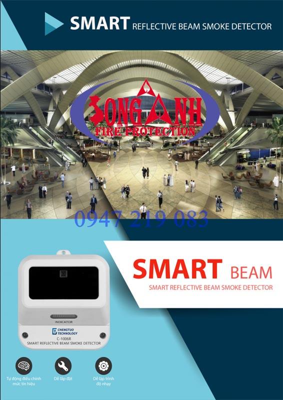 đầu báo khói thông minh smart beam C-1006R giá tốt nhất