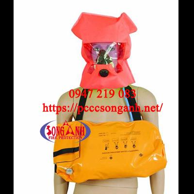 bình khí thở EEBD sử dụng trong an toàn hàng hải