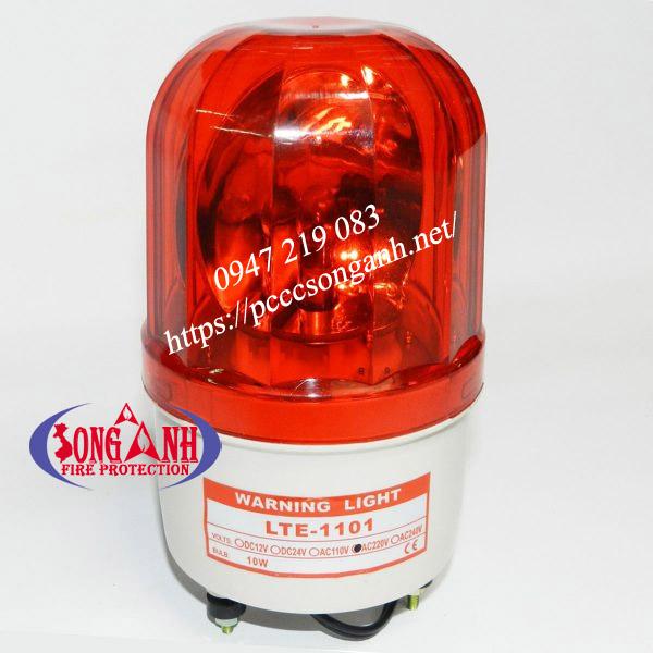 đèn cảnh báo công trường 220v không còi hú