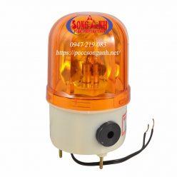 đèn quay cảnh báo công trường 220v co coi