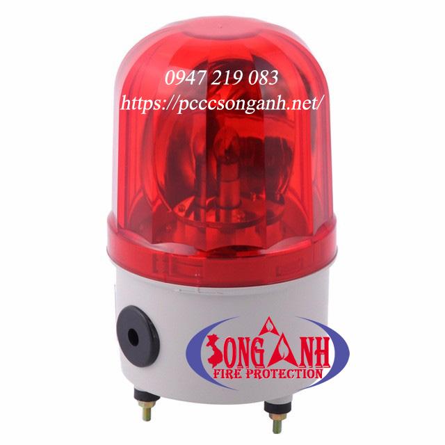 Đèn quay có còi 220V