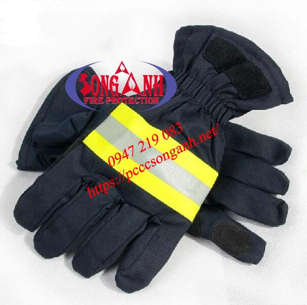 Găng tay chữa cháy Nomex 2 lớp