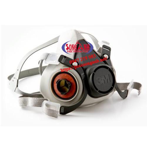 mặt nạ phòng khí độc 3M 6100