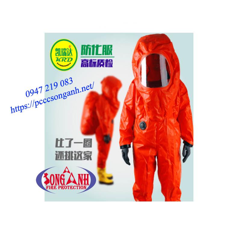 quần áo bảo hộ chống hóa chất trùm kín