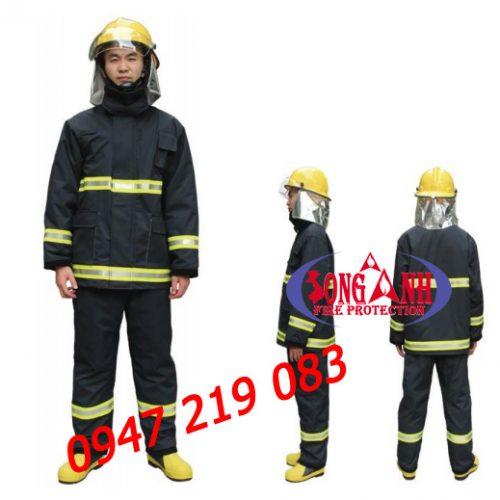 bộ quần áo chống cháy Nomex 300 độ