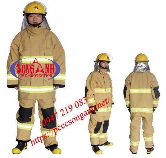 Quần áo chống cháy vải Nomex 5 lớp