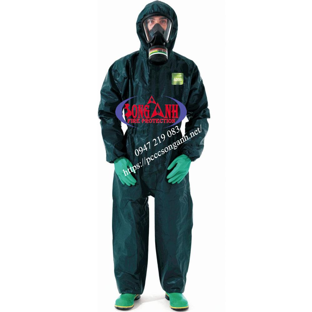 quần áo bảo vệ hóa chất MicroChem 4000
