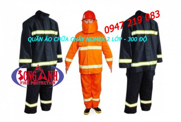 Quần áo chống cháy Nomex 2 lớp (300 độ)