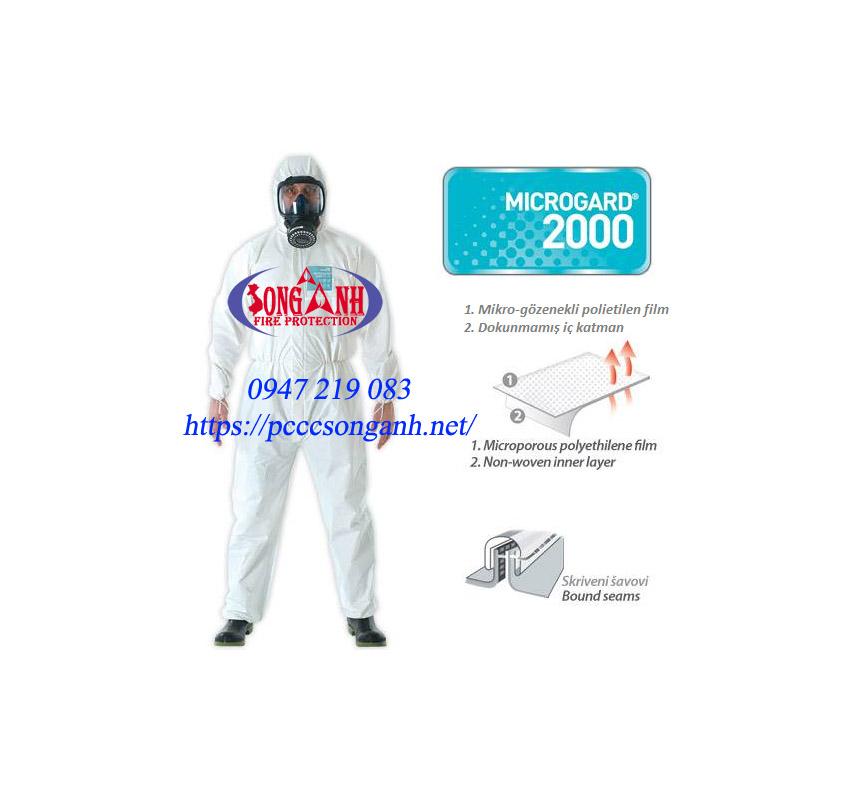 quần áo phòng hóa microchem 2000 standard