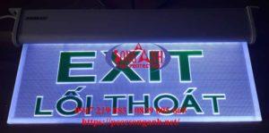 đèn exit trong suốt kentom kt-650