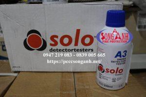 solo a3 smoke detector testing