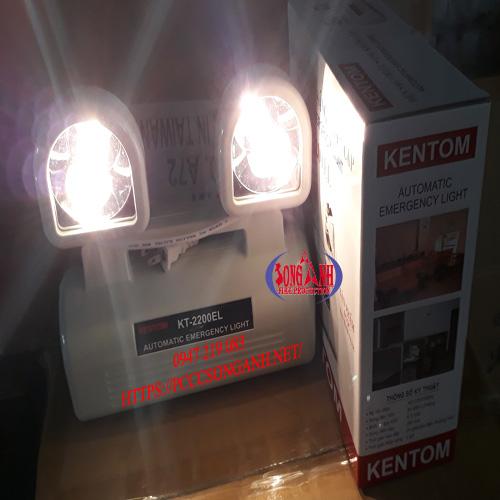 đèn sạc mắt ếch Kentom 2200EL