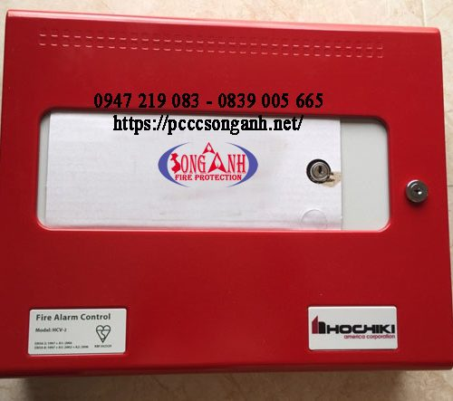 Tủ trung tâm điều khiển báo cháy HCV-2/4/8 kênh Hochiki