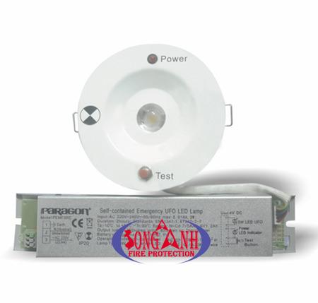 Đèn Sạc Âm Trần PEMF3RC - G2